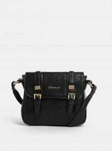Černá crossbody kabelka s detaily ve zlaté barvě Gionni Glenna
