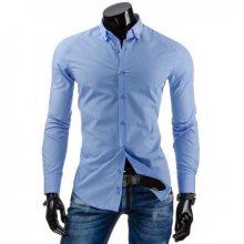 Pánská stylová košile DSTREET blankytně modrá