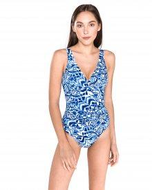 Jednodílné plavky Polo Ralph Lauren | Modrá | Dámské | M