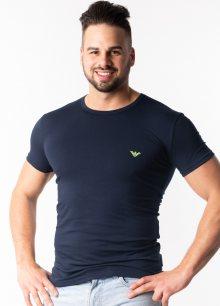 Pánské tričko Emporio Armani 111035 9P723 L Tm. modrá