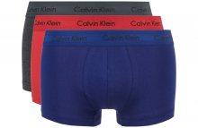 Boxerky 3 ks Calvin Klein   Modrá Červená Šedá   Pánské   L