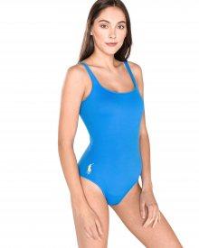 Jednodílné plavky Polo Ralph Lauren | Modrá | Dámské | S