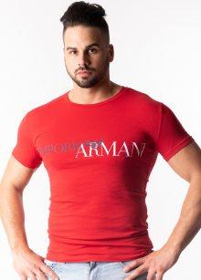 Pánské tričko Emporio Armani 111035 9P516 L Červená