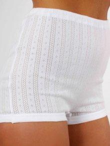 AB Tricot Dámské kalhotky RDM 005 W SHORTY WHITE SET OF 2 (2 kusy)\n\n
