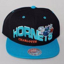 Snapback NBA Charlotte Hornets černá Standardní