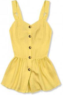 Žlutý letní top