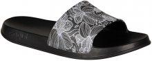Coqui Dámské pantofle Tora Black/Blooming Flowers 7082-207-2200 36