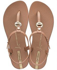 Ipanema Dámské sandále Lenny Cosmo Fem 26101-21053 Brown/Gold 37
