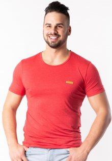Pánské tričko Guess U92M04 L Červená