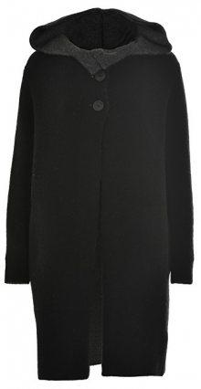 Deha SLEVA - Dámský kabát Coat D63171 Black