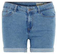 Vero Moda Dámské kraťasy Hot Seven Nw Dnm Fold Shorts Mix Noos Light Blue XS