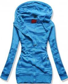 Modrá mikina D422