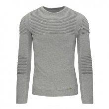 Pohodlný pánský svetr v barvě šedé