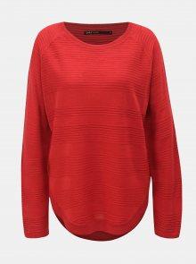Červený lehký svetr ONLY Caviar