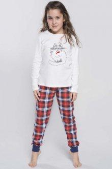 Italian Fashion Carmen Dz. dl.r. dl.k. Dívčí pyžamo 86-92 ecru