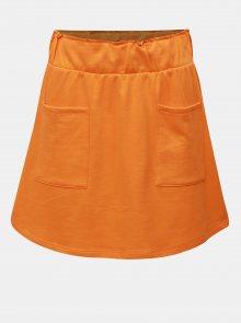 Oranžová sukně s kapsami Noisy May Lily
