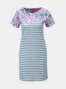 Modro-bílé pruhované šaty Tom Joule Rivieraprint