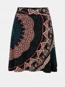 Černá vzorovaná sukně Desigual Nise