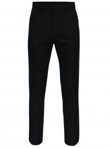 Tmavě modré oblekové slim kalhoty Burton Menswear London