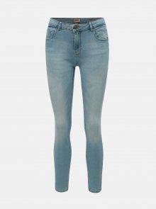 Světle modré push up skinny fit džíny ONLY Daisy