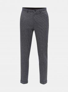 Šedé kostkované skinny fit kalhoty Burton Menswear London