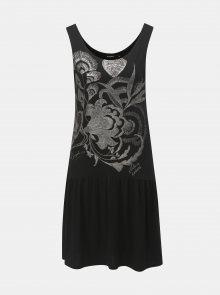 Černé šaty Desigual Omahas