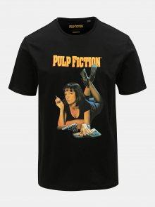 Černé tričko s potiskem ONLY & SONS Pulp Fiction