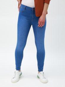 Modré super skiny džíny Dorothy Perkins Petite Frankie