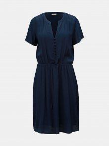 Tmavě modré šaty VILA Minna