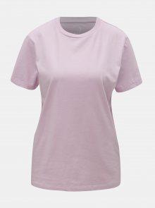 Růžové basic tričko Selected Femme My Perfect