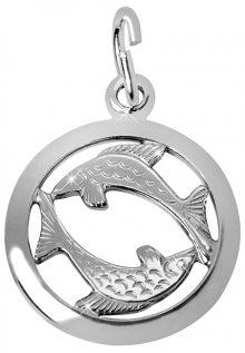 Brilio Silver Stříbrný přívěsek Ryby 441 001 00612 04