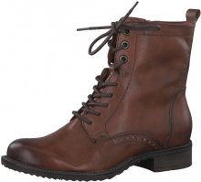Tamaris Dámské kotníkové boty 1-1-25217-21-305 Cognac 37