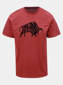 Červené triko s krátkým rukávem Raging Bull