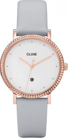Cluse Le Couronnement Rose Gold White/Soft Grey CL63001