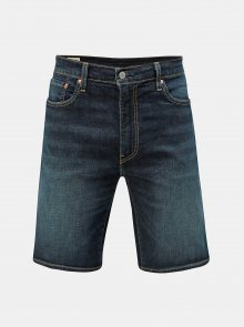 Tmavě modré džínové kraťasy Levi\'s® 502