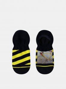 Černé pánské vzorované ponožky XPOOOS