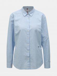 Světle modrá dámská košile Tommy Hilfiger Essential