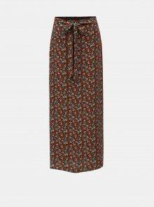 Červená květovaná maxi sukně Dorothy Perkins