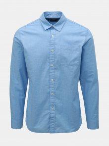 Modrá slim fit košile Jack & Jones Caleb