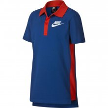 Nike B Nsw Lifestyle Polo modrá 128