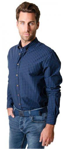 Heavy Tools Pánská košile s dlouhým rukávem Reply W16-411 Blue M
