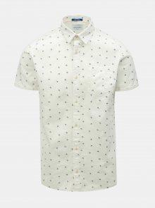 Bílá vzorovaná košile Jack & Jones Luis