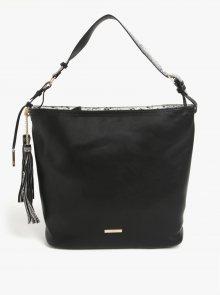 Černá kabelka s třásněmi LYDC