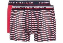 Boxerky 2 ks Tommy Hilfiger | Modrá Červená | Pánské | S