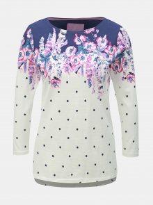 Krémové puntíkované tričko Tom Joule Habour