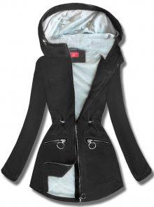 MODOVO Dámská přechodná bunda s kapucí QL-245 černá