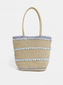 Béžová plážová taška Dorothy Perkins
