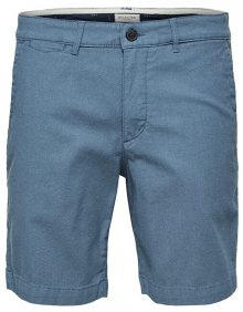 SELECTED HOMME Pánské kraťasy Straight-Chris Shorts W Camp Blue Shadow S