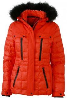 Sportovní dámská zimní bunda JN1101 - Grenadina / černá | L