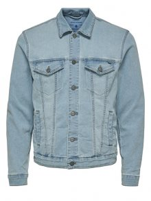 ONLY&SONS Pánská bunda Coin Trucker L Blue PK 3149 Blue Denim M